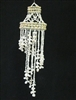 White Moon Shell Spiral Windchime