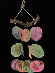 Mini Dyed Placuna Chime