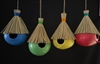 Coconut Birdhouse 4 Astd Colors.