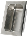 Heavy Duty Recessed Tumbler Holder - Wet Wall Mortar Mount, satin