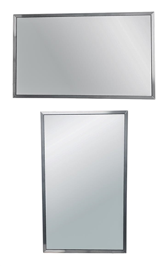 mirror 24 x 36. universal horizontal-vertical mount commercial mirror 36x24 24 x 36