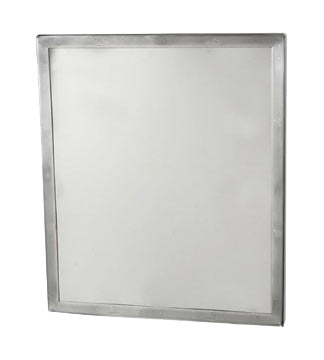 Framed Security Mirror- Seamless Frame with  Concealed Mount