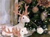December Diamonds White Deer Laying