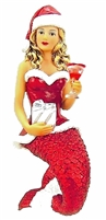 December Diamonds Santa Baby II Mermaid Ornament