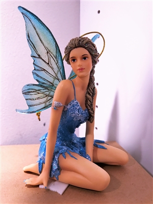 December Diamonds Firefly Female Fairy Christmas Ornament