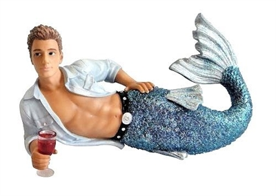 December Diamonds Triton Merman Christmas Tree Ornament