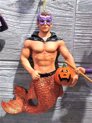 December Diamonds Spookie Spooky Christmas Ornament Merman Halloween