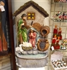 "GERSON 37.8""H Electric Resin Holy Family Fountain"