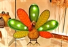 "Gerson 16"" Lighted Metal Turkey with timer and AC adapter (Set of 2) GER-2350300"