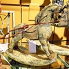 "GERSON 12.2""H Resin Antique Rocking Horse"