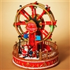 GERSON ELECTRIC LIGHTED MOVING FERRIS WHEEL W/MUSIC
