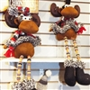 Hanna's Fleece Moose Dangle Leg (Set of 2)