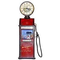 MUSICBOX KINGDOM CHRISTMAS MUSICAL ANTIQUE GAS PUMP
