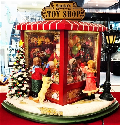 MUSICBOX KINGDOM LIGHTED MUSICAL LARGE TOY SHOP