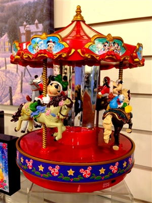 MR CHRISTMAS DISNEY CAROUSEL  S(SOLD OUT NOT AVAILABLE)