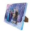 MR CHRISTMAS FROZEN PRINCESSES FAMILY FOREVER ILLUMINART CANVAS ART