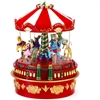 MR CHRISTMAS WORLD'S FAIR MINI CARNIVAL CAROUSEL