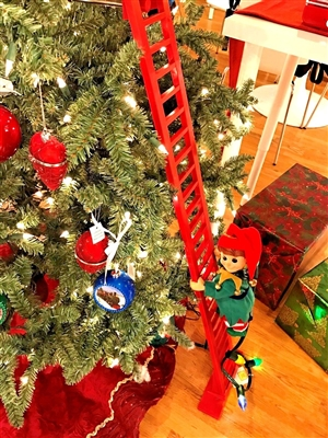 "MR CHRISTMAS SUPER CLIMBING ELFâ""¢ **NEW** MRC36902"