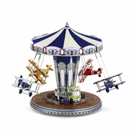 "MR CHRISTMAS Platinum Biplane Rideâ""¢ **NEW** out of stock"