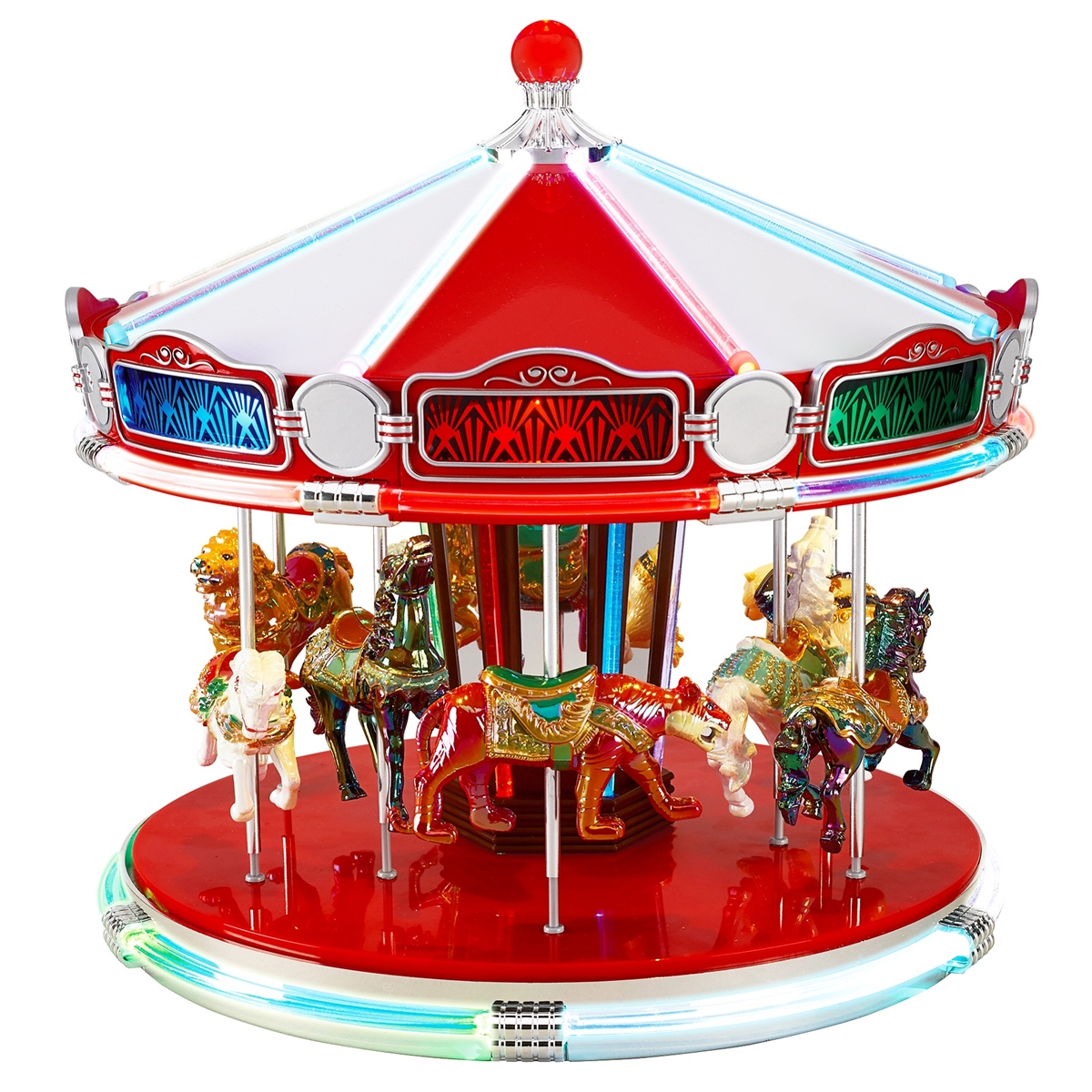 mr christmas 1939 worlds fair carousel - Christmas Carousel Decoration