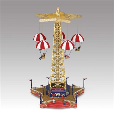 "MR CHRISTMAS WORLD'S FAIR PARACHUTE RIDEâ""¢ SOLD OUT!"