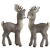 "RAZ IMPORTS POLYFOAM/SISAL 19.5"" DEER (Set of 2)"