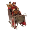 "RAZ IMPORTS ASPEN SWEATER COLLECTION 21"" CAROLERS IN SLEIGH SOLD OUT!"