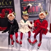 "RAZ IMPORTS 21"" POSABLE SKATING ELF (Set of 3) Silver Bells Collection"
