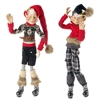 "RAZ IMPORTS 28.5"" ASPEN SWEATER POSABLE ELF (Set of 2) OUT OF STOCK"