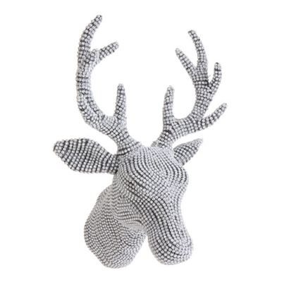 "RAZ IMPORTS 16.5"" WALL RHINESTONE DEER HEAD (Out of Stock)"