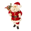 "RAZ IMPORTS MERRY MISTLETOE COLLECTION 18.5"" SANTA"