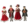 Raz Imports 18'' Christmas Carolers (Set of 4)