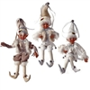 "RAZ IMPORTS 16"" POSABLE ELF ORNAMENT Arctic Palace Collection"