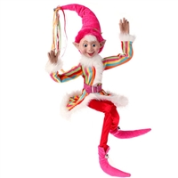 "30"" POSABLE ELF Candy Sprinkles Collection"