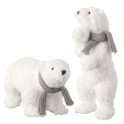 "RAZ IMPORTS 17"" POLAR BEAR (SET OF 2) SOLD OUT NOT AVAILABLE"