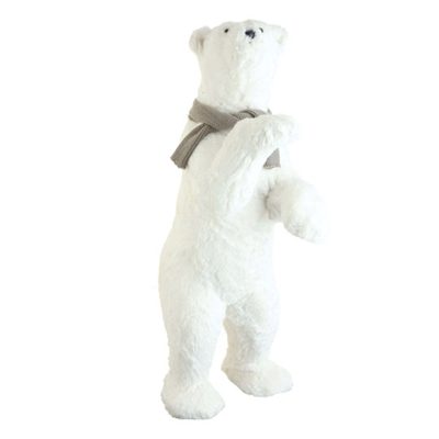 "RAZ IMPORTS 34.5"" STANDING POLAR BEAR (Out of Stock)"