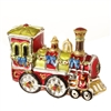 "RAZ IMPORTS 4"" TRAIN ORNAMENT (SET OF 3)"