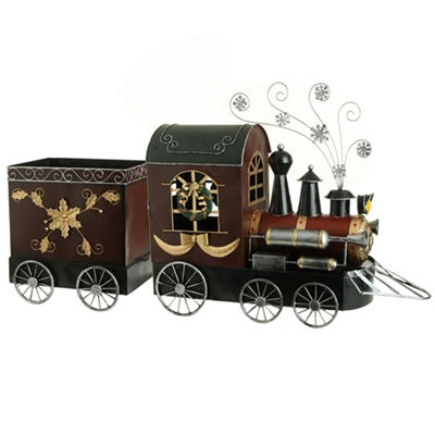 "RAZ IMPORTS 41"" CHRISTMAS TRAIN"
