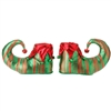 "RAZ IMPORTS 8"" ELF SHOE ORNAMENT (SET OF 2)"