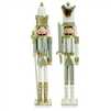 "RAZ IMPORTS 24"" NUTCRACKER WHT/SIL (SET OF 2)"