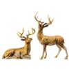 "Raz Imports Copper Mountain Collection 20.5"" Reindeer (Set of 2)"