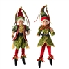 "RAZ IMPORTS 16"" POSABLE ELF (Set of 2)"