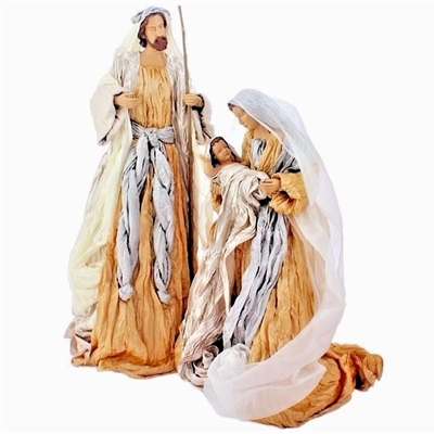 "RAZ IMPORTS 35"" HOLY FAMILY (Set of 3) SOLD OUT NO STOCK"