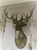 "Raz Imports 17.5"" Deer Head wall Art ""Holiday Dreams"" Collection RAZ3701654"