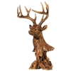 Raz Imports Copper Mountain Collection 17.5'' Deer Head RAZ3711151