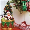 "Raz Imports 18"" Drum with Elf ""Santa Supply Collection"" RAZ3715507  OUT OF STOCK NOT AVAILABLE"