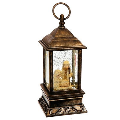"Raz Imports 9.5"" Holy Family Lighted Water Lantern OUT OF STOCK"
