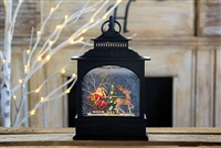 "Raz Imports 11"" Santa in Sleigh Lighted Water Lantern  OUT OF STOCK"