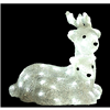 Season's Design 14'' Acrylic Lying Reindeer 56L LED White