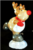 "Season's design 18"" Acrylic Skating Christmas Reindeer W/ 60 Led Lights SD-96063180000"
